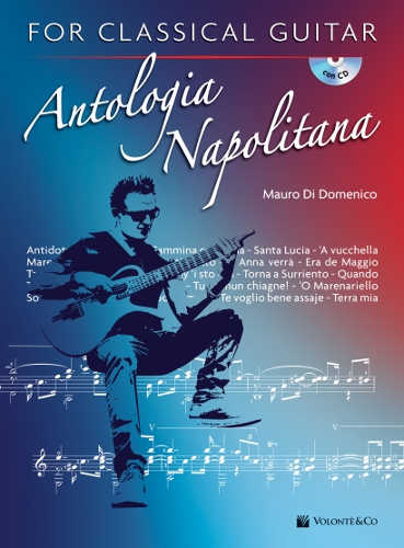 ANTOLOGIA NAPOLITANA. For classical guitar - Mauro Di Domenico