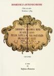 domenico antonio rossi organaro racconta. napoli 1769