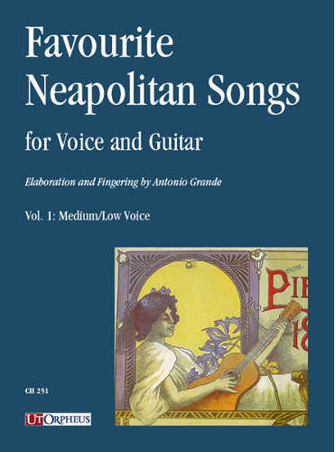 favourite neapolitan songs for voice and guitar antonio grande volume 1