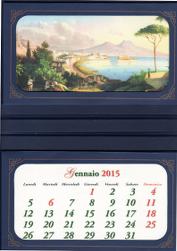 calendario parete 2 tasche gustavo